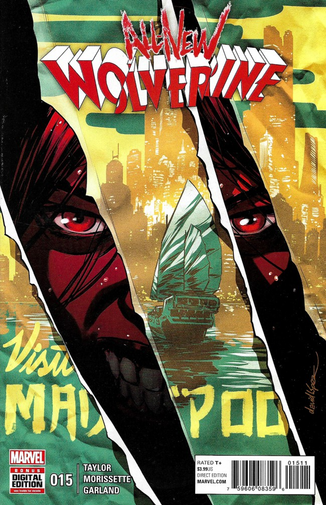 Couverture de All-New Wolverine (2016) -15- Enemy Of The State II