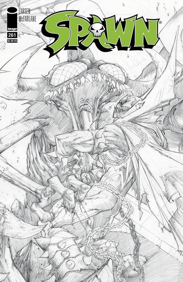 Couverture de Spawn (1992) -261a- Satan Saga Wars Part 3