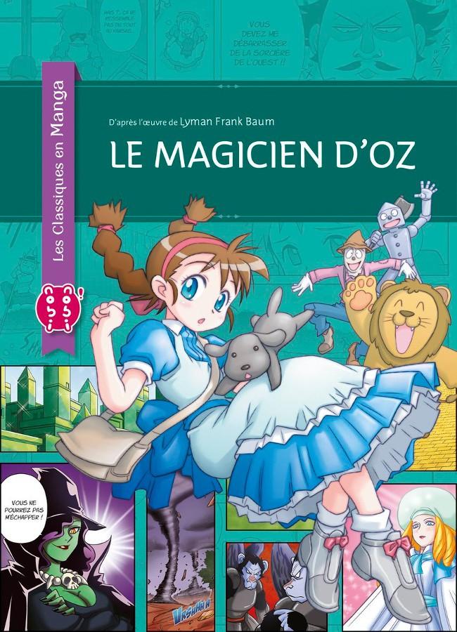 Couverture de Le magicien d'Oz (Ohtsuka) - Le Magicien d'Oz