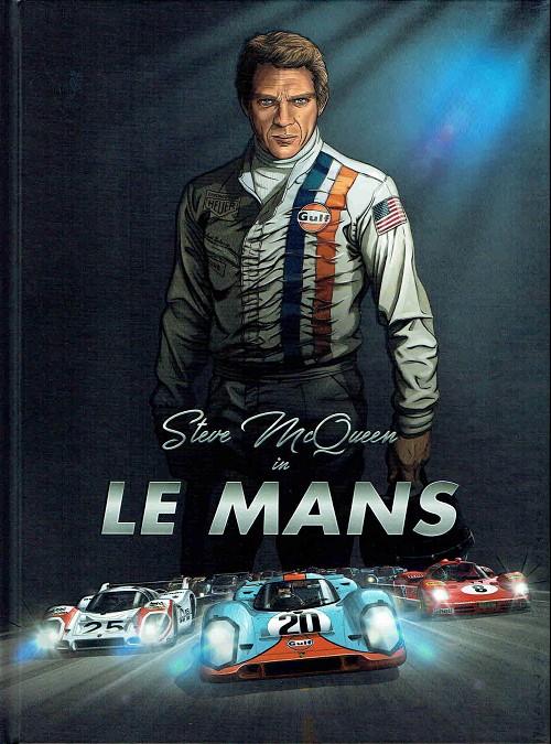 Couverture de Steve McQueen in Le Mans - Tome 1