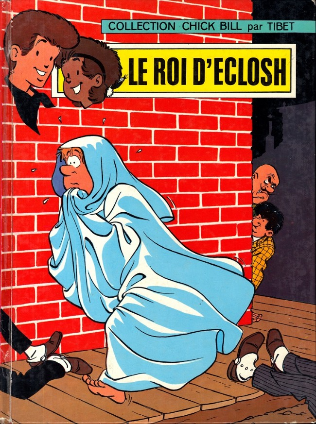Couverture de Chick Bill (collection Chick Bill) -9- Le Roi d'Eclosh