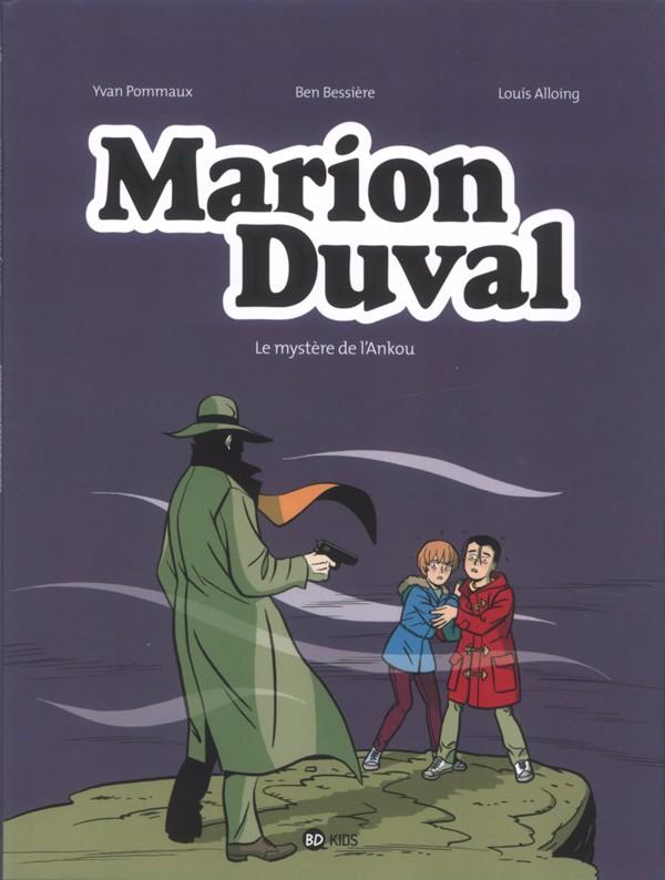 Couverture de Marion Duval -26- Le mystère de l'Ankou