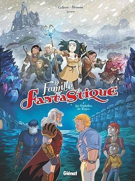 Couverture de La famille fantastique -2- Les orphelins de Targas