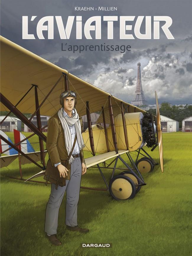 Couverture de L'aviateur -2- L'apprentissage
