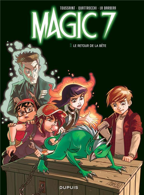 Couverture de Magic 7 -3- Le retour de la bête !
