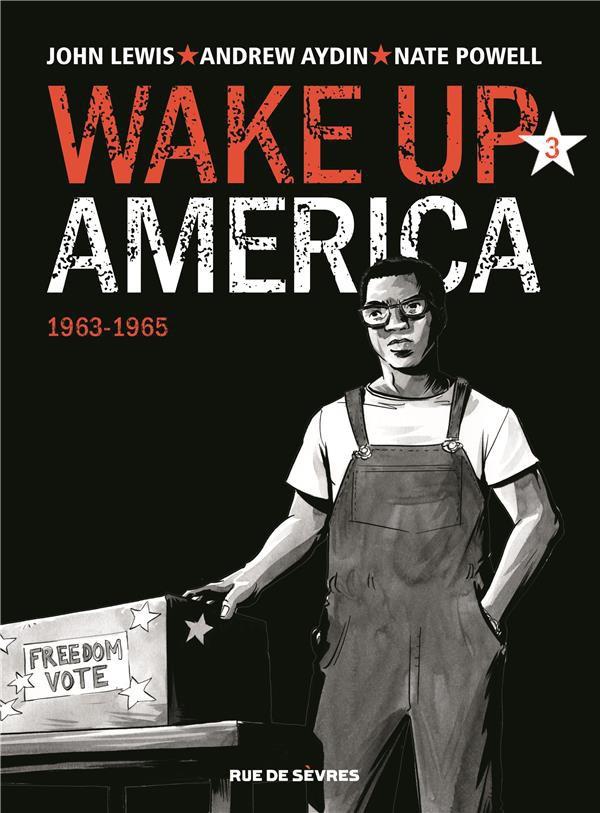 Couverture de Wake Up America -3- 1963-1965