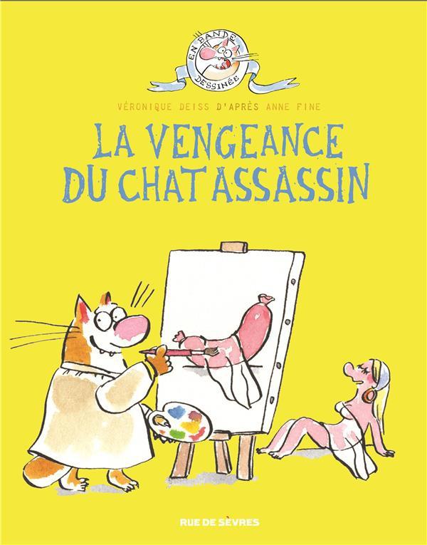 Couverture de Le chat assassin -3- La vengeance du chat assassin