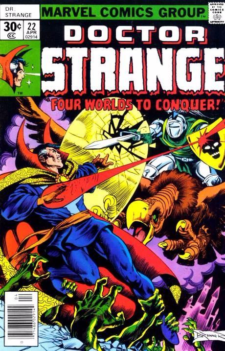 Couverture de Doctor Strange (1974) -22- Mind Trip!
