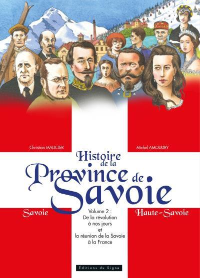 Couverture de Histoire de la province de Savoie -2- Histoire de la Province de Savoie