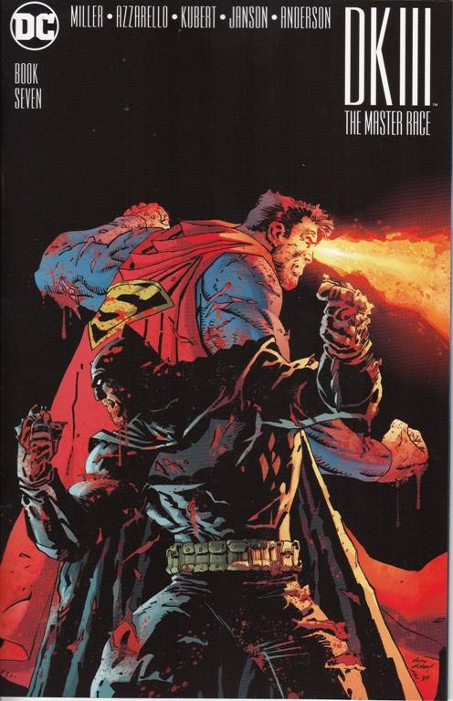 Couverture de Dark Knight III: The Master Race (2016) -7- Book Seven