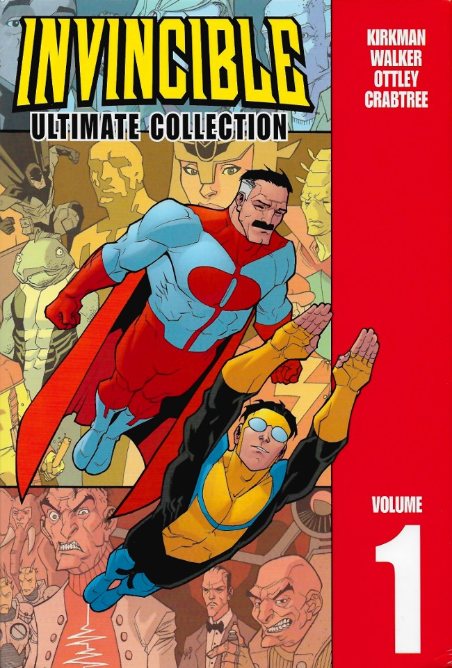 Couverture de Invincible: The Ultimate Collection (2003) -INT01- Volume 1
