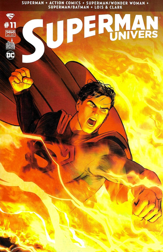 Couverture de Superman Univers -11- Numéro 11