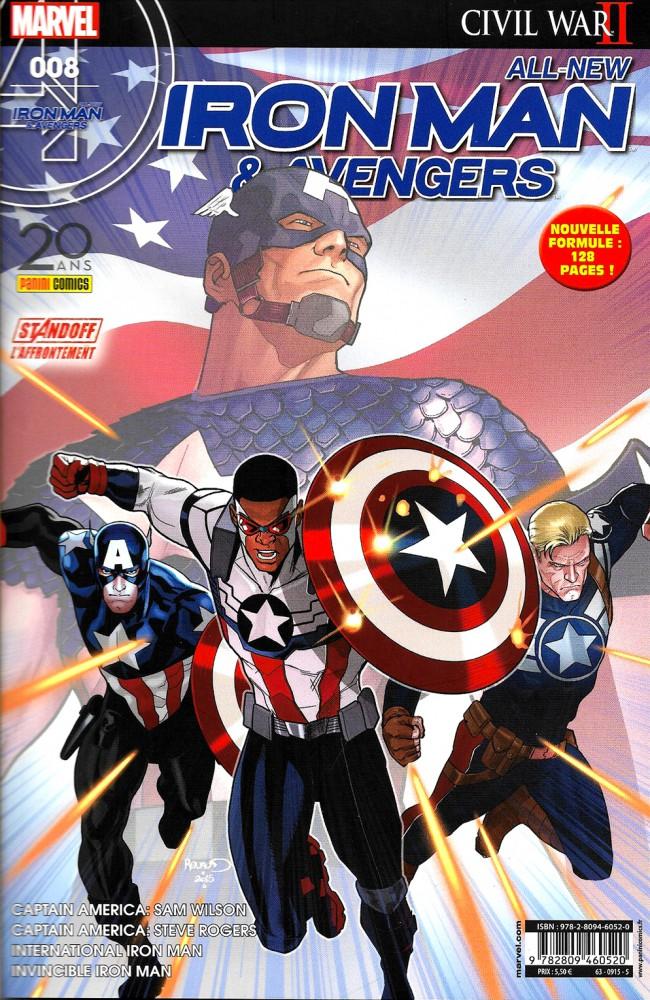 Couverture de All-New Iron Man & Avengers -8- Coup de jeune