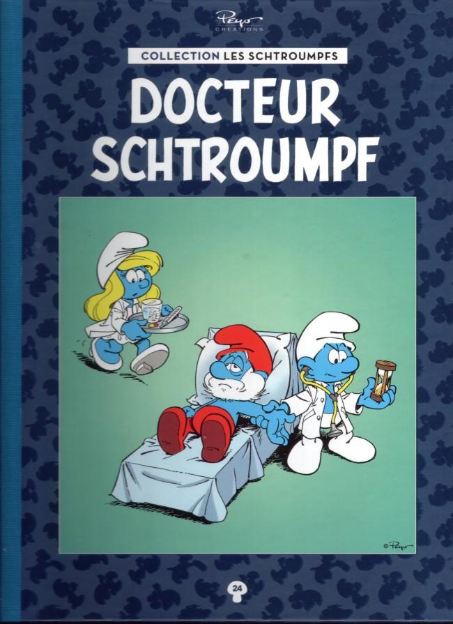 Couverture de Les schtroumpfs - La collection (Hachette) -24- Docteur Schtroumpf