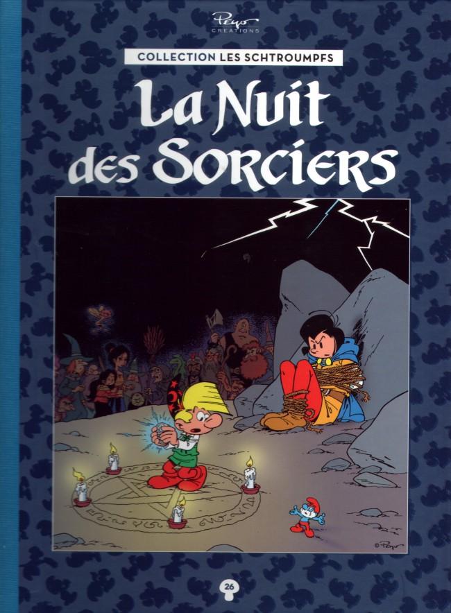 Couverture de Les schtroumpfs - La collection (Hachette) -26- La Nuit des Sorciers