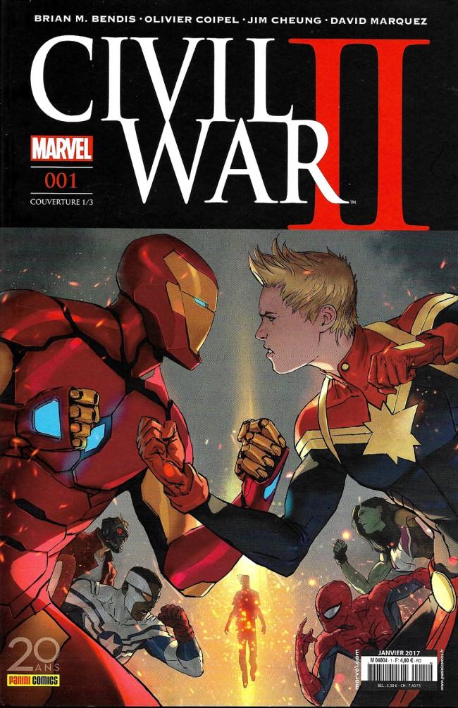 Couverture de Civil War II - Tome 11/3