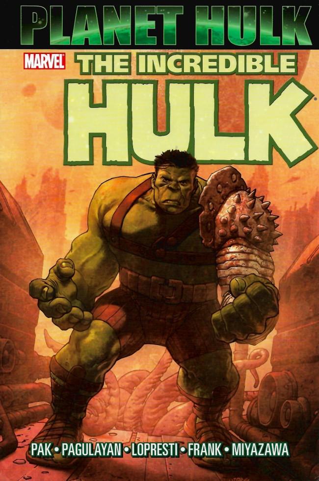 Couverture de Incredible Hulk (The) (Marvel comics - 2000) -INT14- Planet Hulk