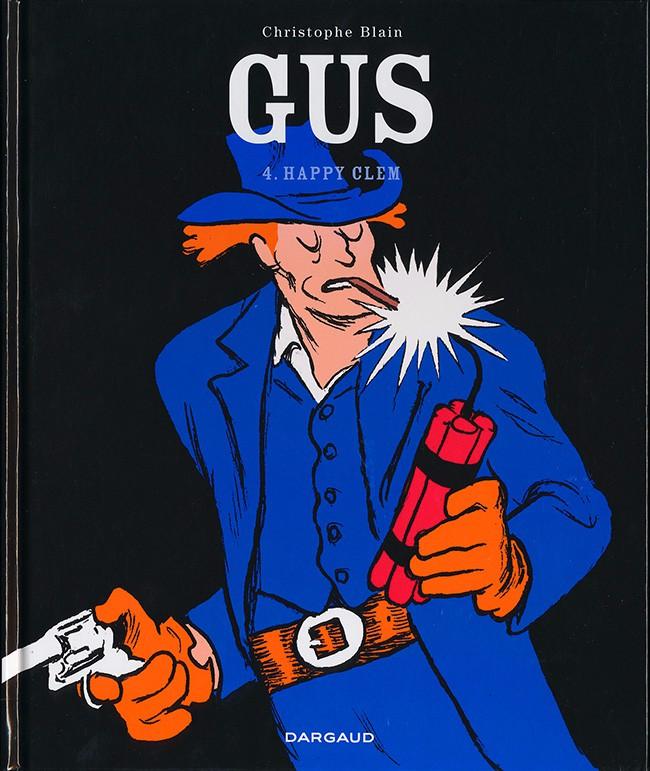 Couverture de Gus -4- Happy Clem