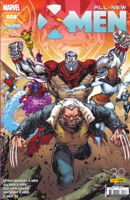 Couverture de All-New X-Men -8- Royaumes déchus