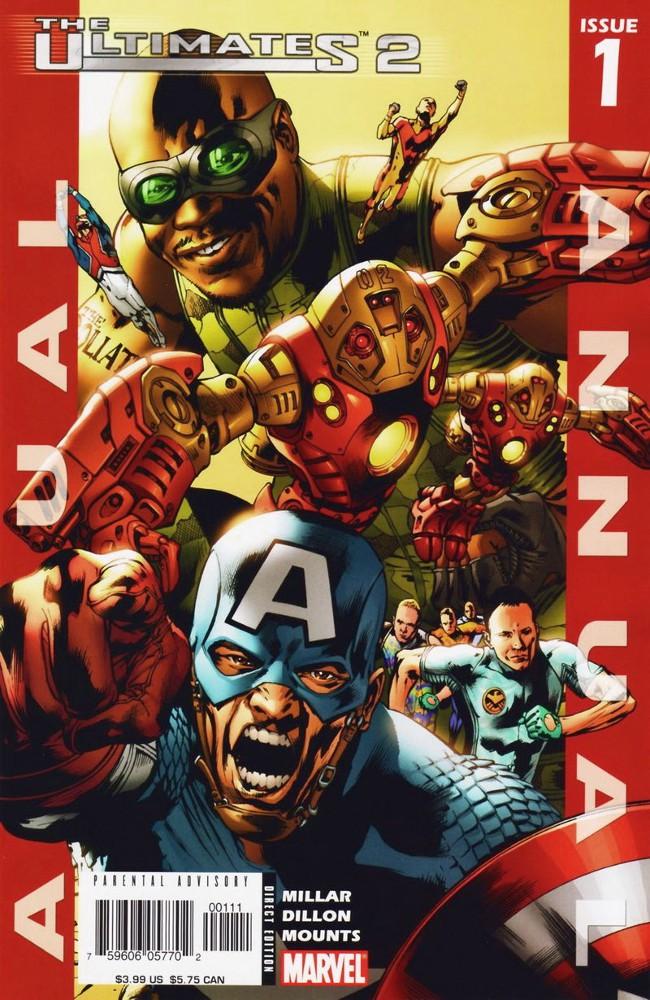 Couverture de The ultimates 2 (Marvel Comics - 2005) -AN01- The Reserves