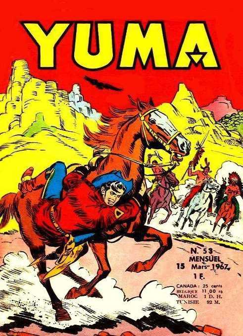 Couverture de Yuma (1re série) -53- Les indiens attaquent
