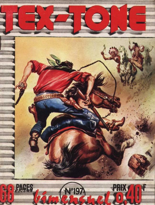 Couverture de Tex-Tone -197- La vengeance rouge