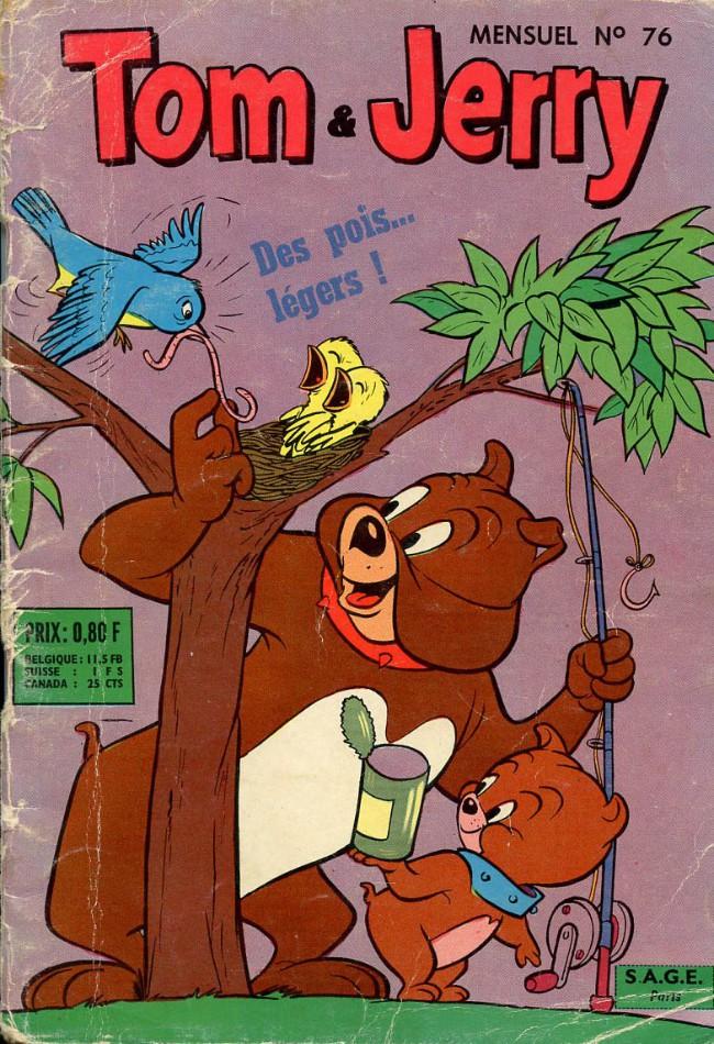 Couverture de Tom et Jerry (Puis Tom & Jerry) (2e Série - Sage) -76- Des pois... légers!