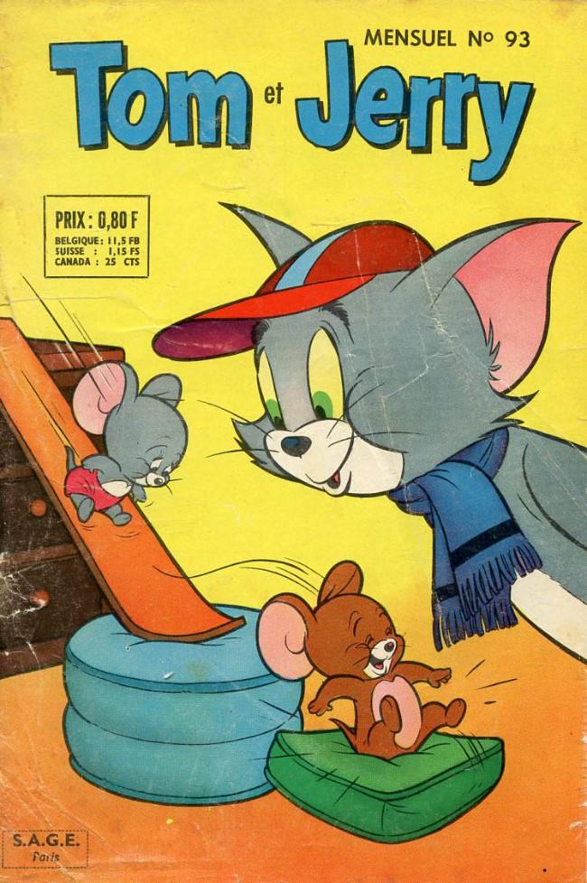 Couverture de Tom et Jerry (Puis Tom & Jerry) (2e Série - Sage) -93- Conclusion imprévue
