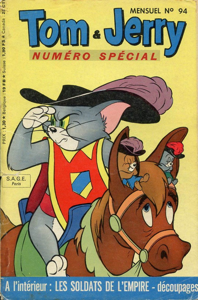 Couverture de Tom et Jerry (Puis Tom & Jerry) (2e Série - Sage) -94- Panique fantômatique