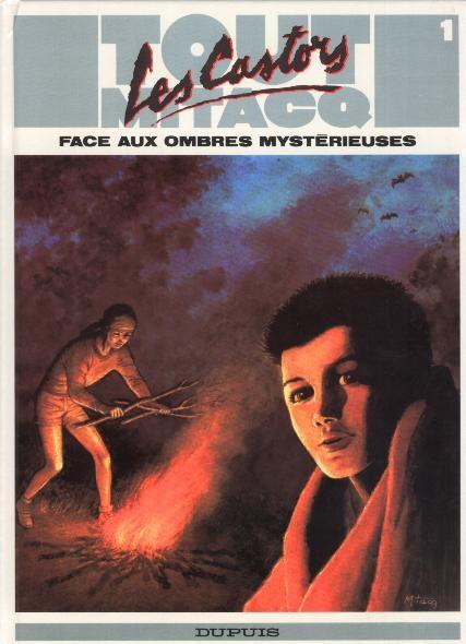 Couverture de Tout Mitacq -1- Les castors - face aux ombres mystérieuses