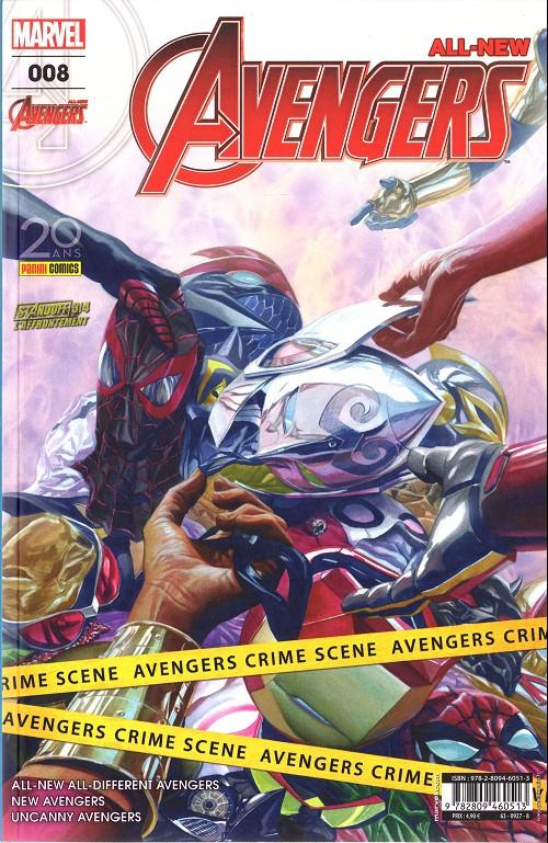 Couverture de All-New Avengers -8- L'Affrontement (3/4)