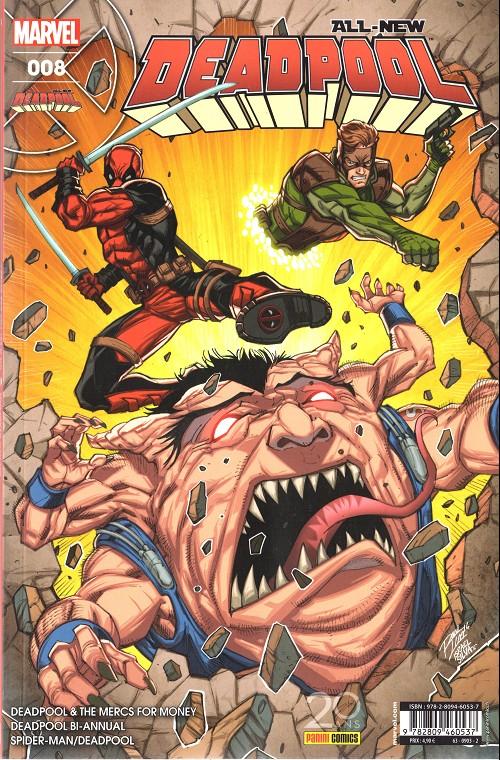 Couverture de All-New Deadpool -8- On n'est pas des bêtes !