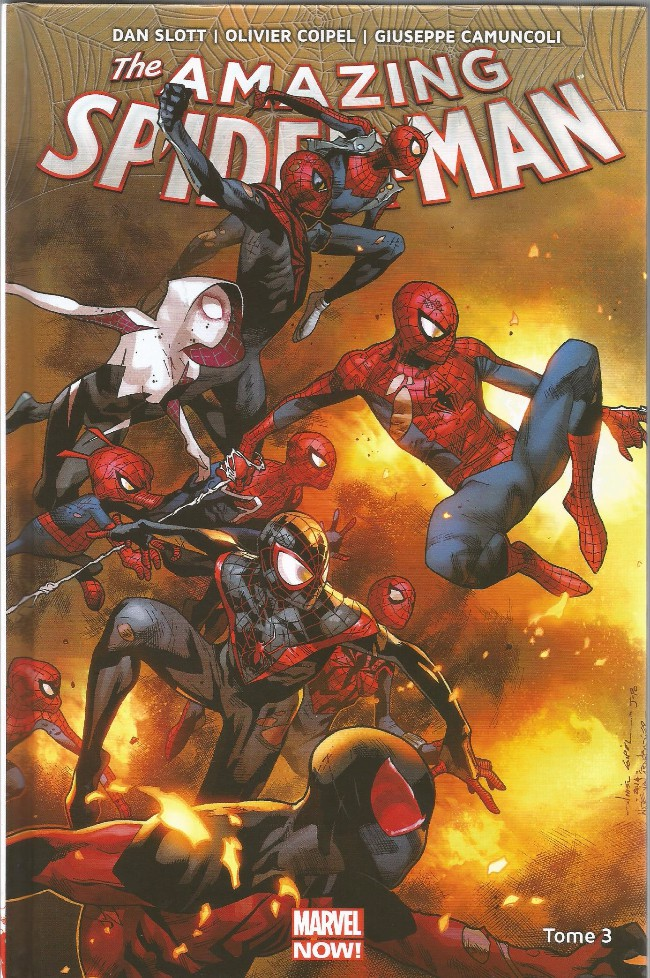 Couverture de Amazing Spider-Man (Marvel Now!) -3- Spider-Verse