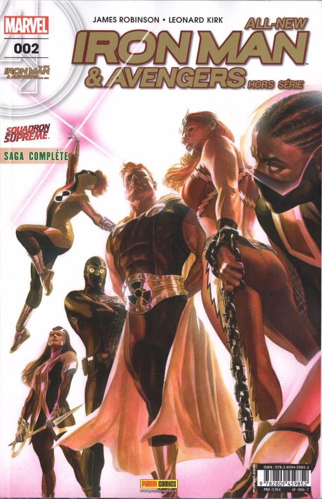 Couverture de All-New Iron Man & Avengers -HS02- Qui veut la fin, veut les moyens