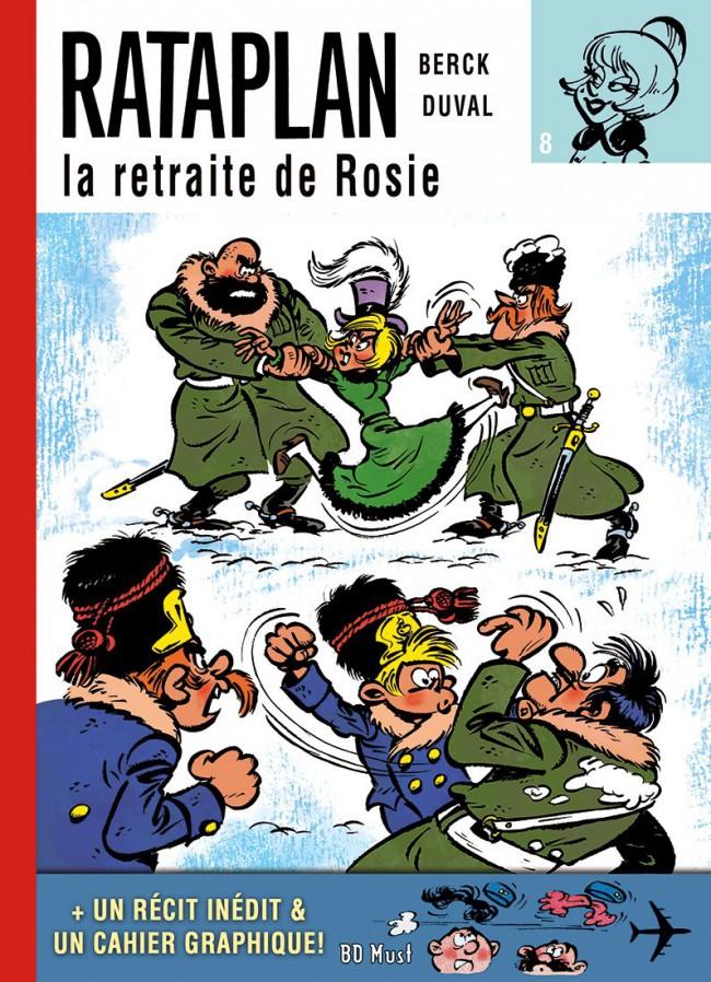 Couverture de Rataplan (BD Must) -8- La retraite de Rosie