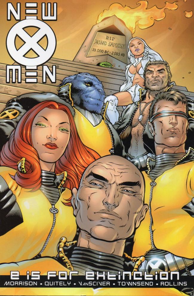 Couverture de New X-Men (2001) -INT01- E is For Extinction