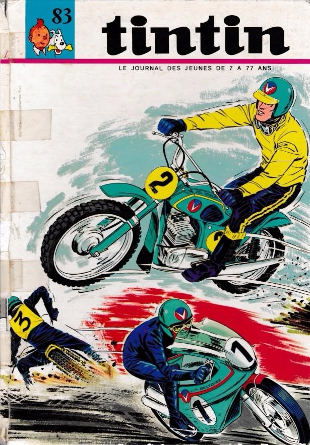 Couverture de (Recueil) Tintin (Album du journal - Édition française) -83- Tintin abum du journal