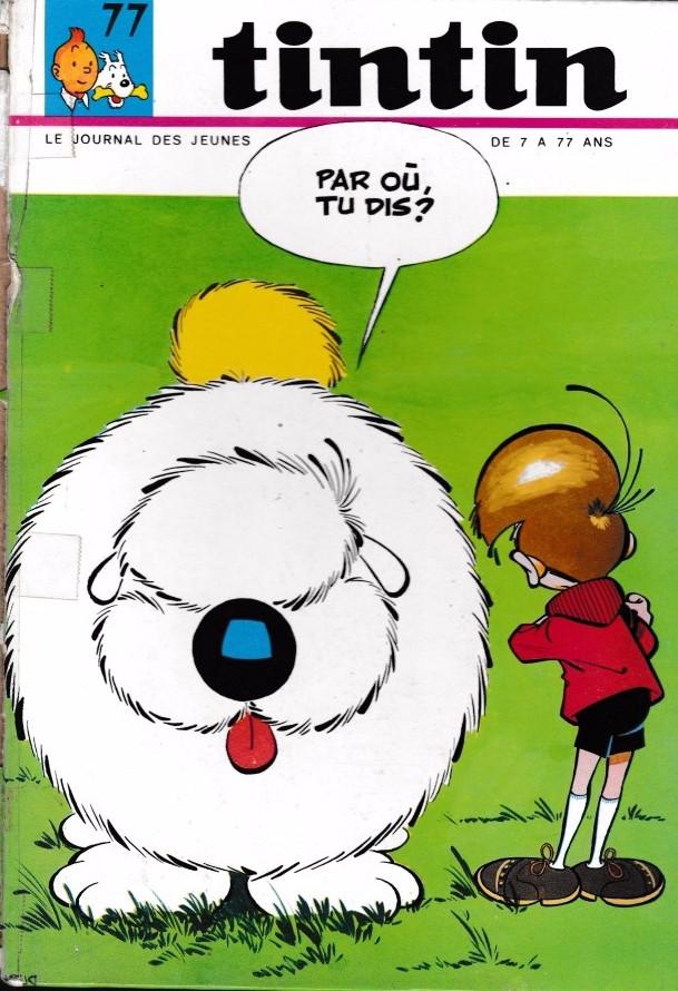Couverture de (Recueil) Tintin (Album du journal - Édition française) -77- Tintin abum du journal (n°1030 à 1041)