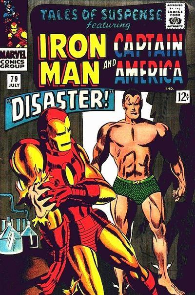 Couverture de Tales of suspense Vol. 1 (Marvel comics - 1959) -79-