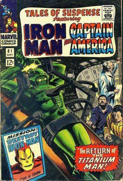 Couverture de Tales of suspense Vol. 1 (Marvel comics - 1959) -81-