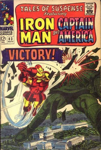 Couverture de Tales of suspense Vol. 1 (Marvel comics - 1959) -83-