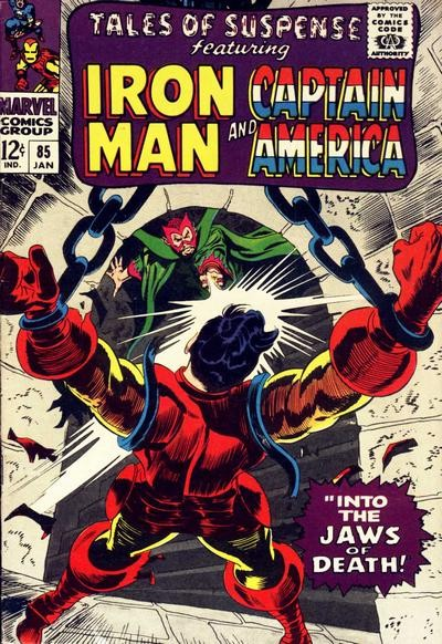 Couverture de Tales of suspense Vol. 1 (Marvel comics - 1959) -85-