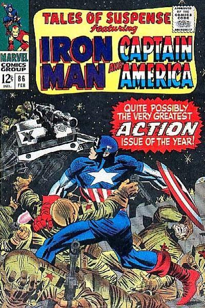 Couverture de Tales of suspense Vol. 1 (Marvel comics - 1959) -86- (sans titre)
