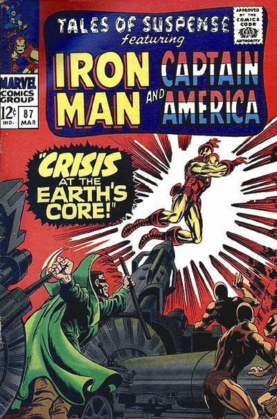 Couverture de Tales of suspense Vol. 1 (Marvel comics - 1959) -87-