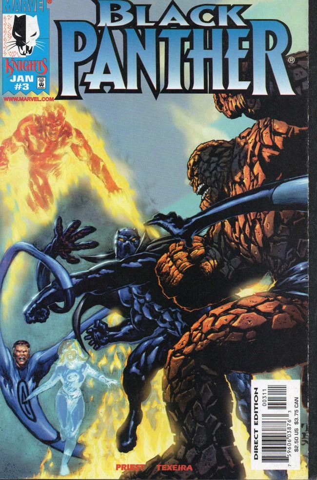 Couverture de Black Panther Vol.3 (Marvel - 1998) -3- Original sin