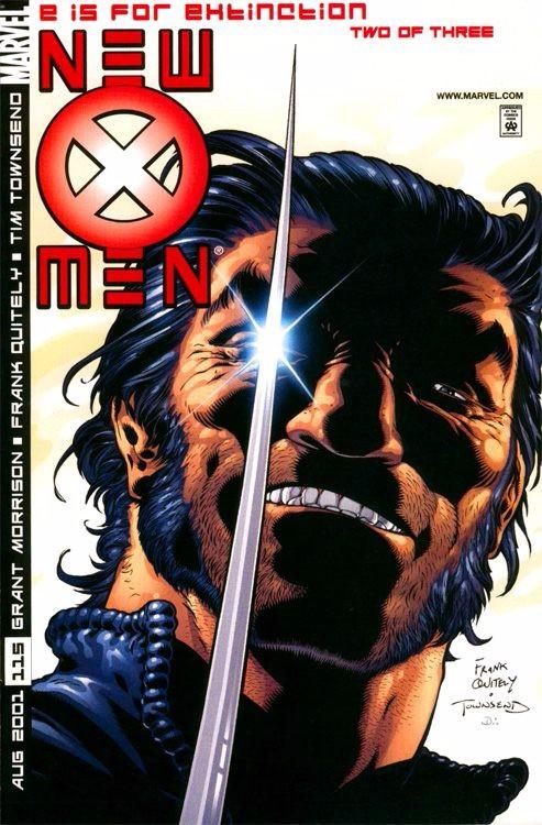 Couverture de New X-Men (2001) -115- E for Extinction Part 2