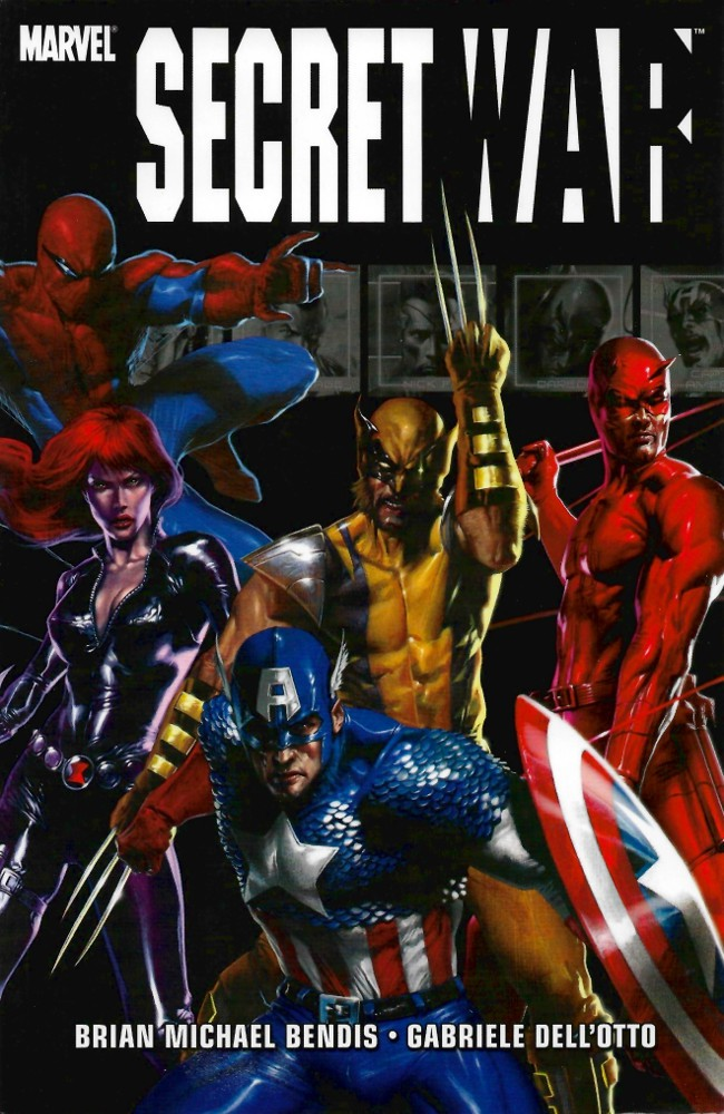 Couverture de Secret war (Marvel comics - 2004) -INT- Secret War