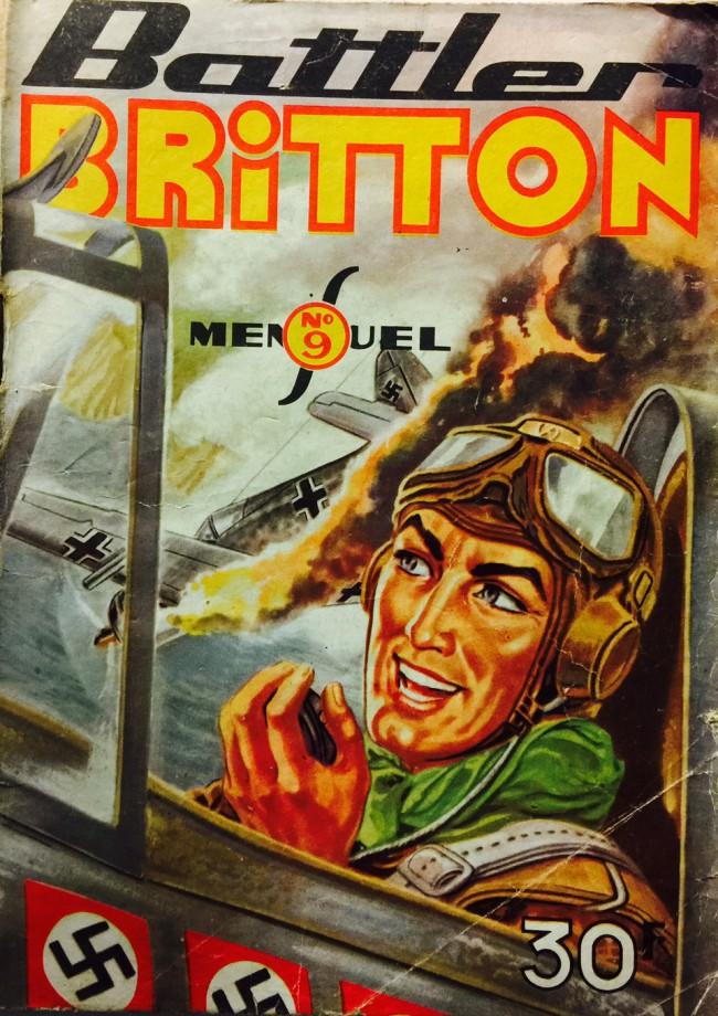 Couverture de Battler Britton -9- Battler Britton et le convoi arctique