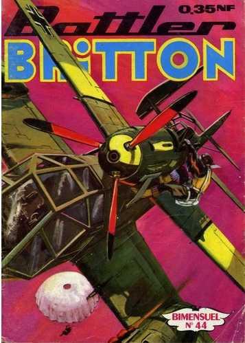Couverture de Battler Britton -44- Le vantard