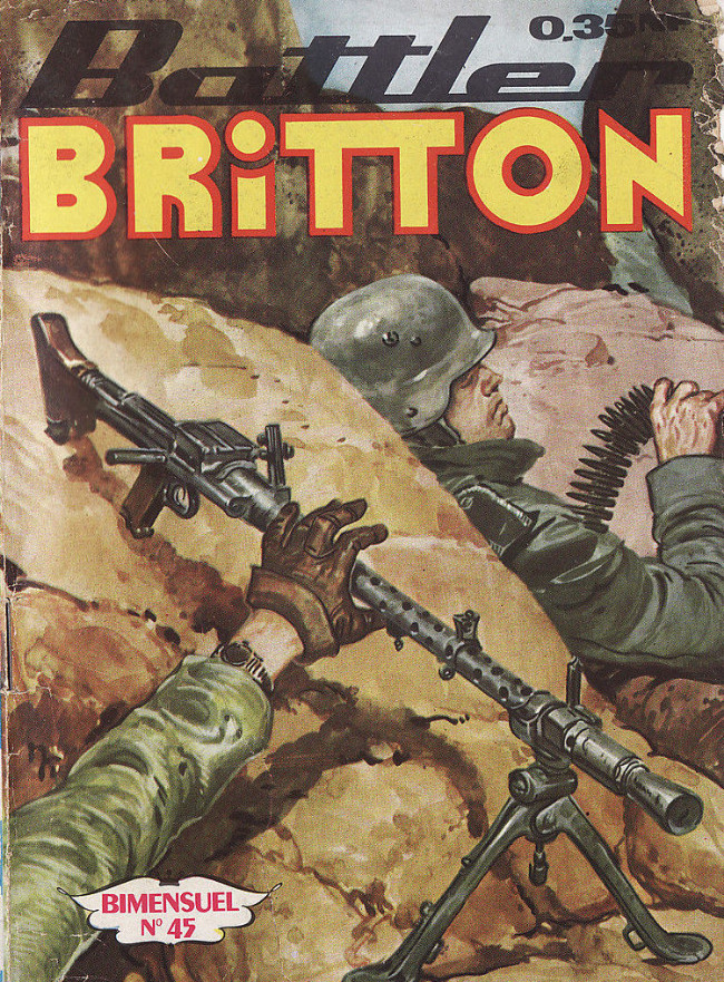 Couverture de Battler Britton -45- Battler Britton et l'agent secret